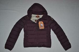 AUTHENTIC-PARAJUMPERS-JULIET-GIRLS-DOWN-JACKET-BORDEAUX-YOUTH-SMALL-BRAND-NEW