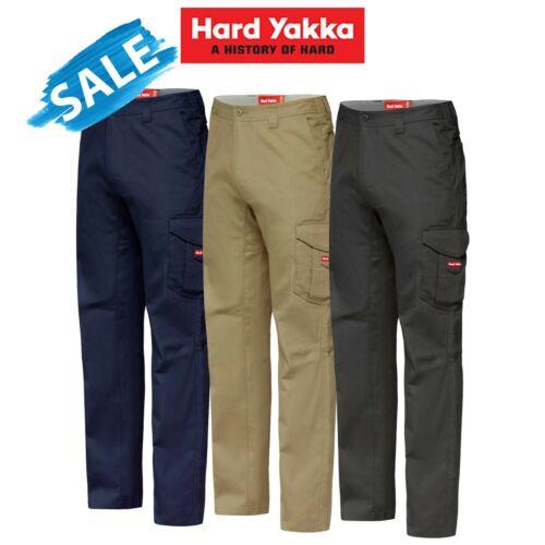SALE Hard Yakka Koolgear Vented Cargo Pants Work Lightweight Summer Cool Y02300