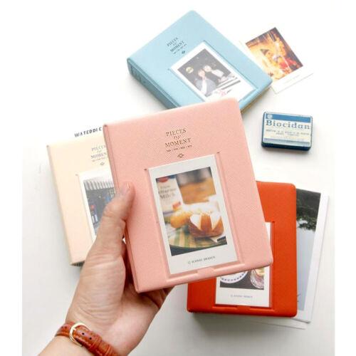 64 Taschen PVC Album Fall Lagerung Polaroid-Foto für Mini Fuji Film Instax