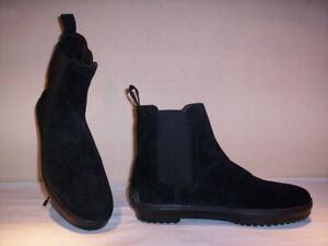 Uomo Casual Stivali Pelle 40 Pueblo Chelsea Stivaletti Neri Shoe Camoscio Scarpe ZwXxqAHI
