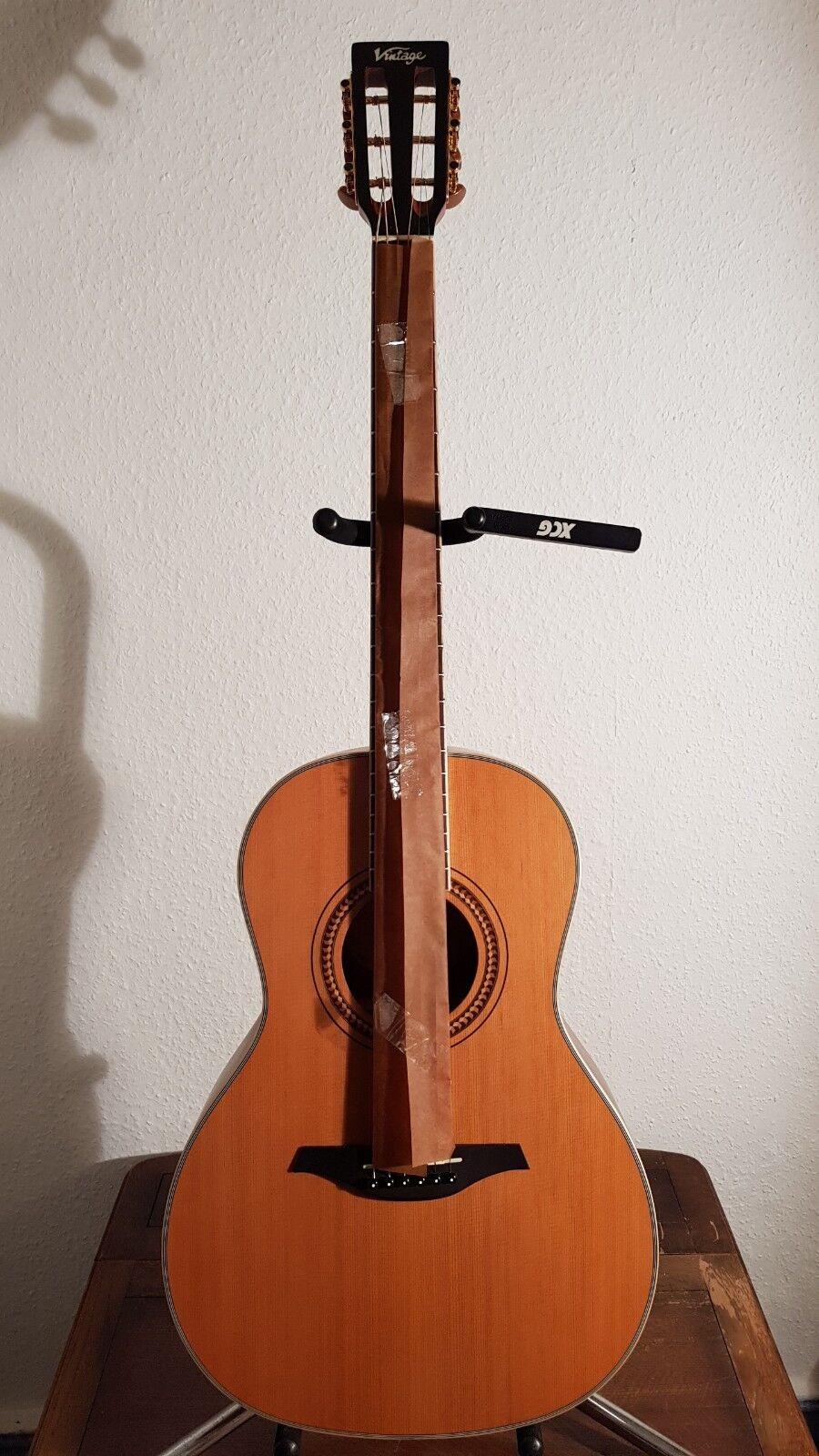 Vintage V880N 'Parlor' Acoustic Guitar PA RL V8 80