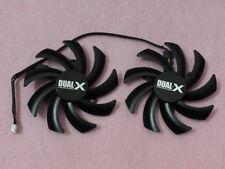 85mm Sapphire AMD HD7970 HD7950 HD7870 HD7850 Dual-X Fan Replacement 40mm R158a