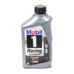 mobil 1 0w 30 racing oil 1 qt zinc phosphorous additive. Black Bedroom Furniture Sets. Home Design Ideas