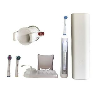 Braun oral b genius 8000 crossaction elektrische - Elektrische zahnburste mit wandhalterung ...