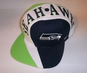 new arrival dae4c 5f3f6 Seattle Seahawks NFL Logo 47 Brand Captain Hat Logo Cap Adjustable SZ
