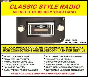 image is loading 1973-1974-1975-1976-chevy-truck-stereo-radio-