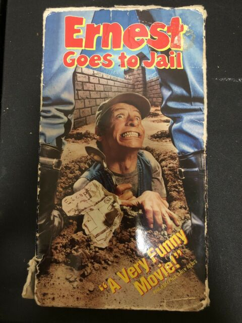 Ernest Goes to Jail (VHS, 1990)