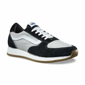 Image is loading Vans-Runner-Varsity-Sport-039-84-Black-White- c3d5c003531