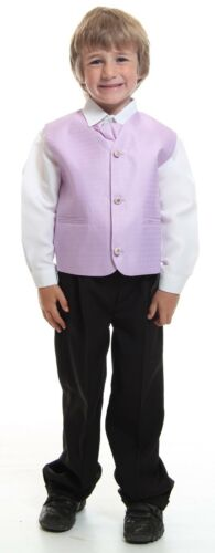 Boys 2 Piece Formal Kids Suit Lilac Ideal For Dinner Wedding Dress Age 1-14