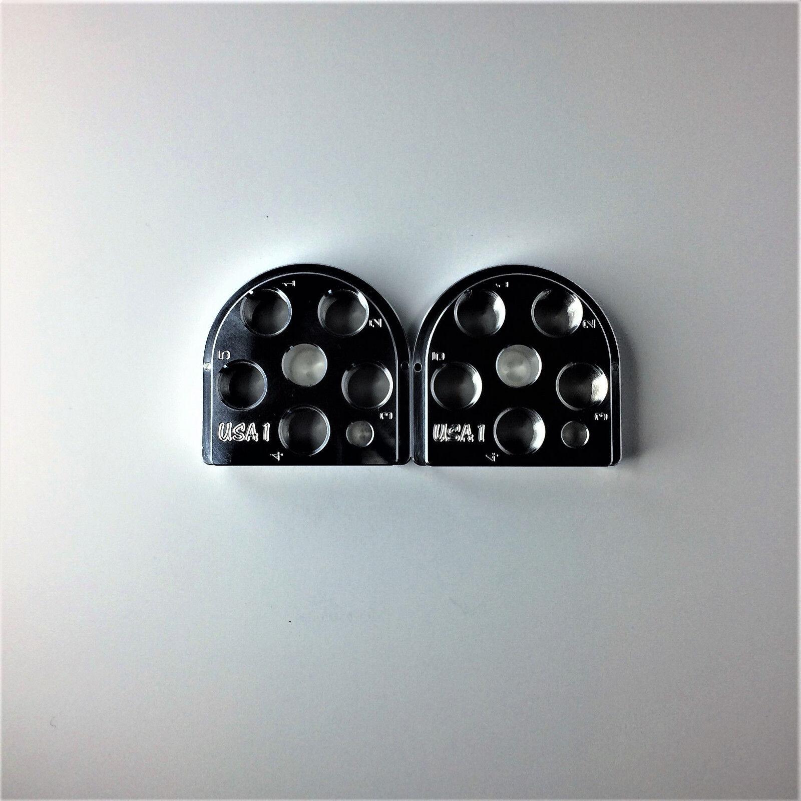 (2) Dillon Precision XL650 Style Billet Aluminum Toolhead 5 Station tool head