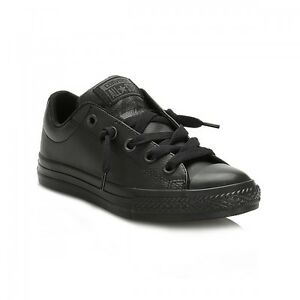5d4af1a879b Image is loading Converse-Chuck-Taylor-Street-Ox-Leather-Casual-Shoes-