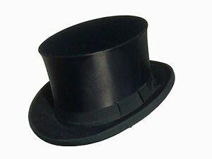 zylinder hut gebraucht chapeau claque klappzylinder f r frack gr 55 63. Black Bedroom Furniture Sets. Home Design Ideas