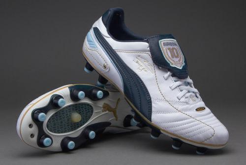 Puma King Diego Finale I Fg Firm Ground Soccer zapatos Maradona plataina.