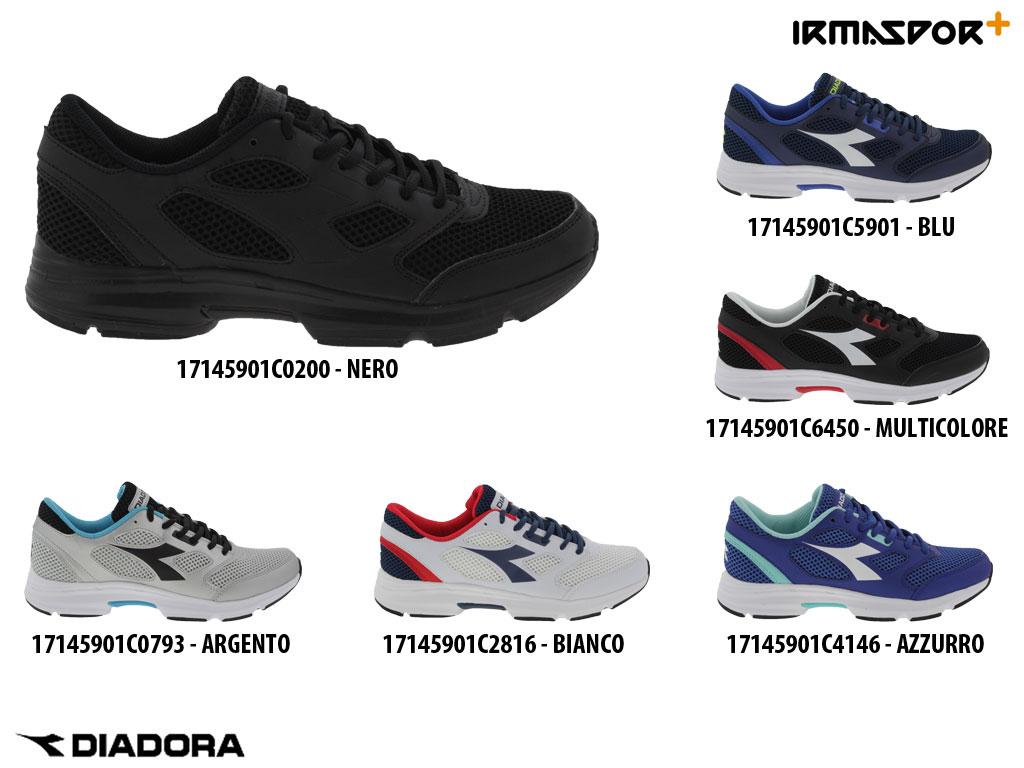 Diadora Shape 7 scarpa running uomo donna con lacci morbida e traspirante | Alta qualità ed economico  | Scolaro/Ragazze Scarpa