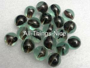 Vintage-Collectable-BLACK-CATS-EYE-16mm-Glass-Toy-Marbles-JOBLOT-20