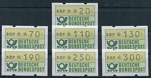 Bund-ATM-sauber-postfrisch-1-1-VS-2-Automatenmarken-Satz-Versandstellensatz-MNH