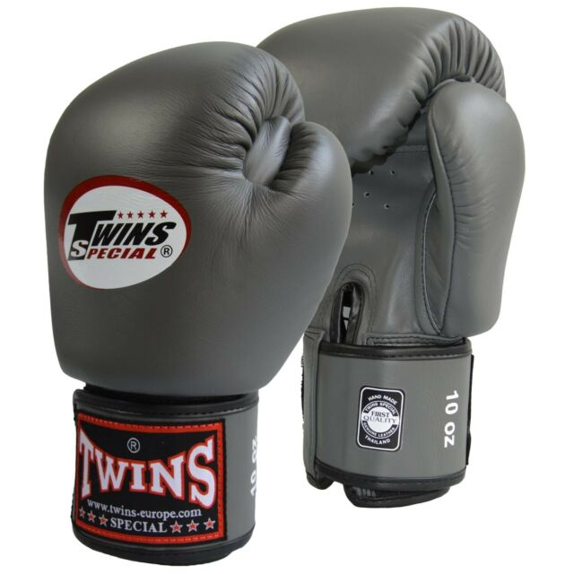 TWINS Boxing GLOVES BGVL-3 Velcro Muay Thai Boxing Gloves 2-10 Oz.