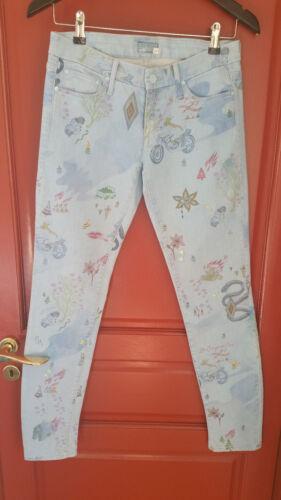 Superbe Nouveau Mother Taille Jeans Size Slim 28 rHrTp