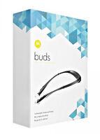Motorola Buds SF500 Bluetooth Stereo Headset Black -BRAND NEW FACTORY SEALED BOX