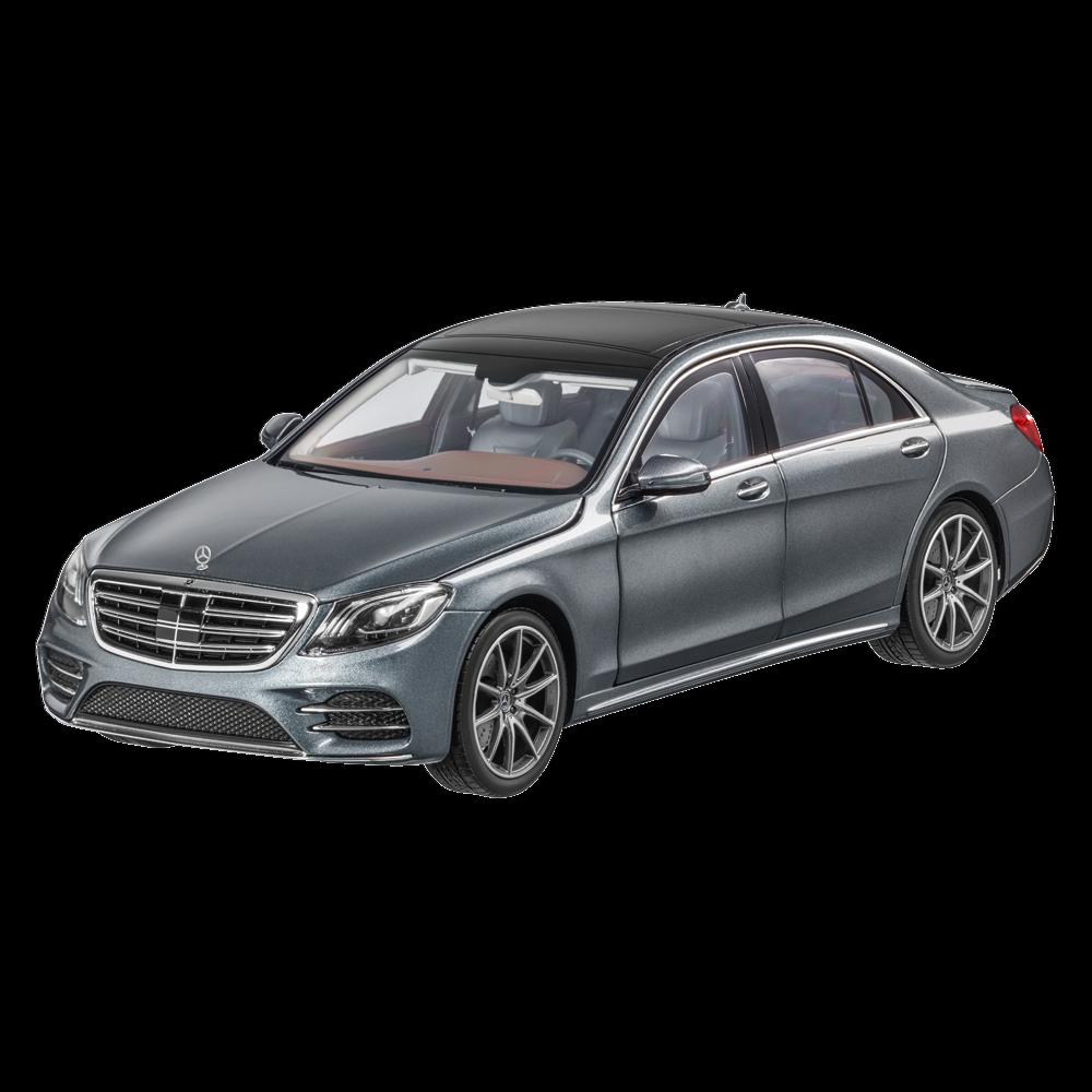 Mercedes Benz V 222 S Klasse Langversion Facelift 2017 AMG Line Grau 1 18 NeuOVP