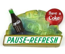 COCA-Cola USA Calamita Frigorifero Magnete Fridge Magnet COKE-pausa-Refresh