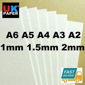1mm-2mm-A4-A3-CARDBOARD-CARDS-BACKING-BOARD-PAPER-SHEETS-KRAFT-WHITE-MODEL-MOUNT