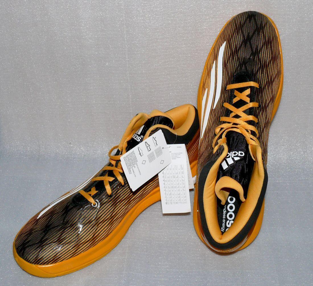 Bdidas C77247 Performance Crazy Light Boost Herren Schuhe 51 1/3 UK15 Gold Schwa