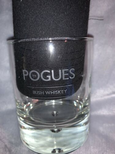 New The Pogues Irish Whiskey Old Fashioned Glass