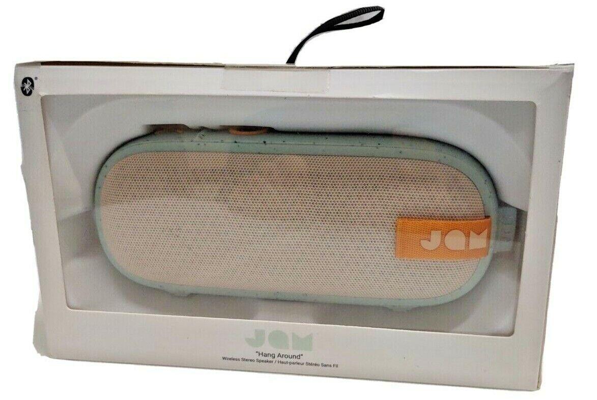 New JAM Hang Around Portable Waterproof Speaker 100ft. range 20hr. playtime