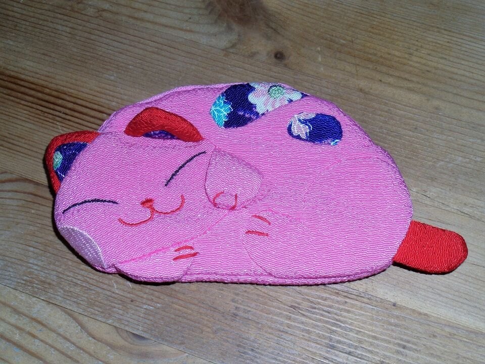 Andet legetøj, Børne pung med katte motiv i stof