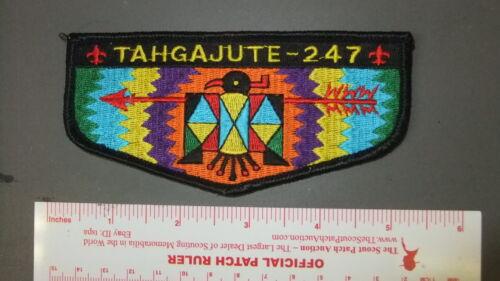 Boy Scout OA 247 Tahgajute flap 7405HH