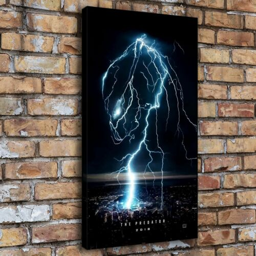 Predator 2018 Lightning Home Decor Room HD Canva Print Picture Wall Art Painting