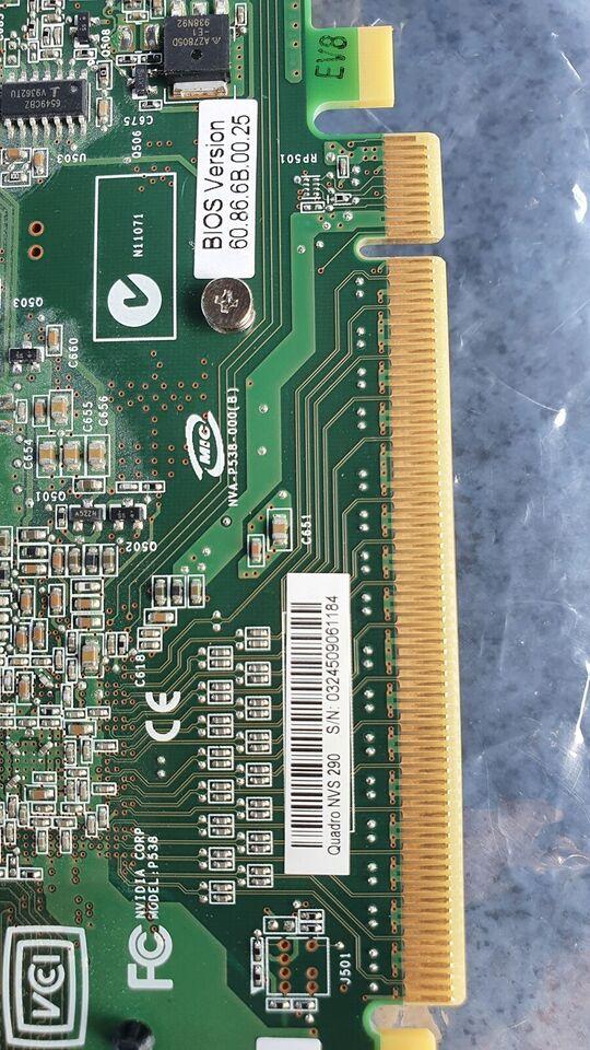 Nvs290 Nvidia / Hp, 256 GB RAM, God