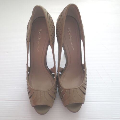 Leather Khaki Colore Bcbgeneration 10b evie Bg Shoes 40 Taglia Nuovo xPqC1EwSXC