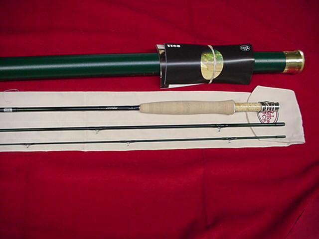 Winston Fly Rod Model WT 8 1/2 ft 3 Piece  4 Line GREAT NEW