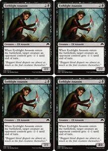 4x THORNBOW ARCHER Magic Origins MTG Black Creature — Elf Archer Com