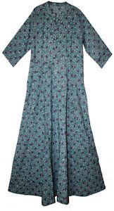 Indian-Dress-Cotton-Retro-Ehs-Hippy-Women-Vintage-Blusa-Vestir-Boho-Retro-Ethnic