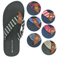 Tommy Hilfiger Assorted Patterns Womens Eva Flip Flop Sandals