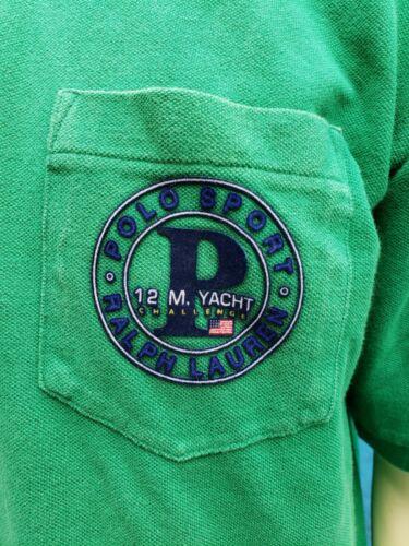 Polo Sport Ralph Lauren Vtg SS Polo Shirt Yacht Ch