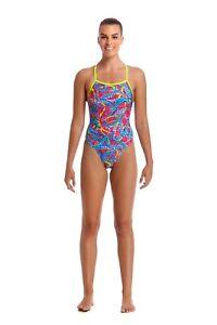 Funkita Swimwear FUNKITA Squeaky Squid Eco Tie Me Tight One Piece Swimsuit