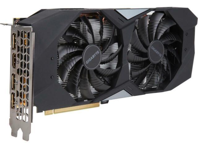 GIGABYTE GeForce GTX 1660 Ti WINDFORCE OC 6G Graphics Card, 2 x WINDFORCE Fans,