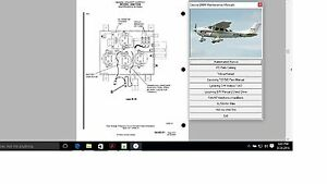 Cessna 206 T 206 Service Maintenance Manual + Engine 1969 - 1976 Library w A/Ds