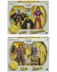 PRE-ORDER-Marvel-Legends-X-MEN-Thunderbird-and-Storm-Oldman-Logan-Hawkeye