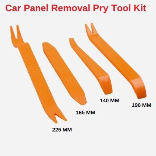 Car Trim Removal Tool Pry Panel Dash Radio Door Body Clip Installer Kit