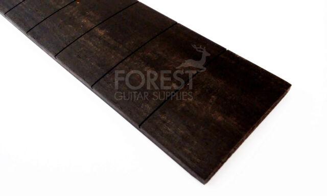 "Ebony guitar fretboard, fingerboard 24.562"" Gibson, slotted compound radius"