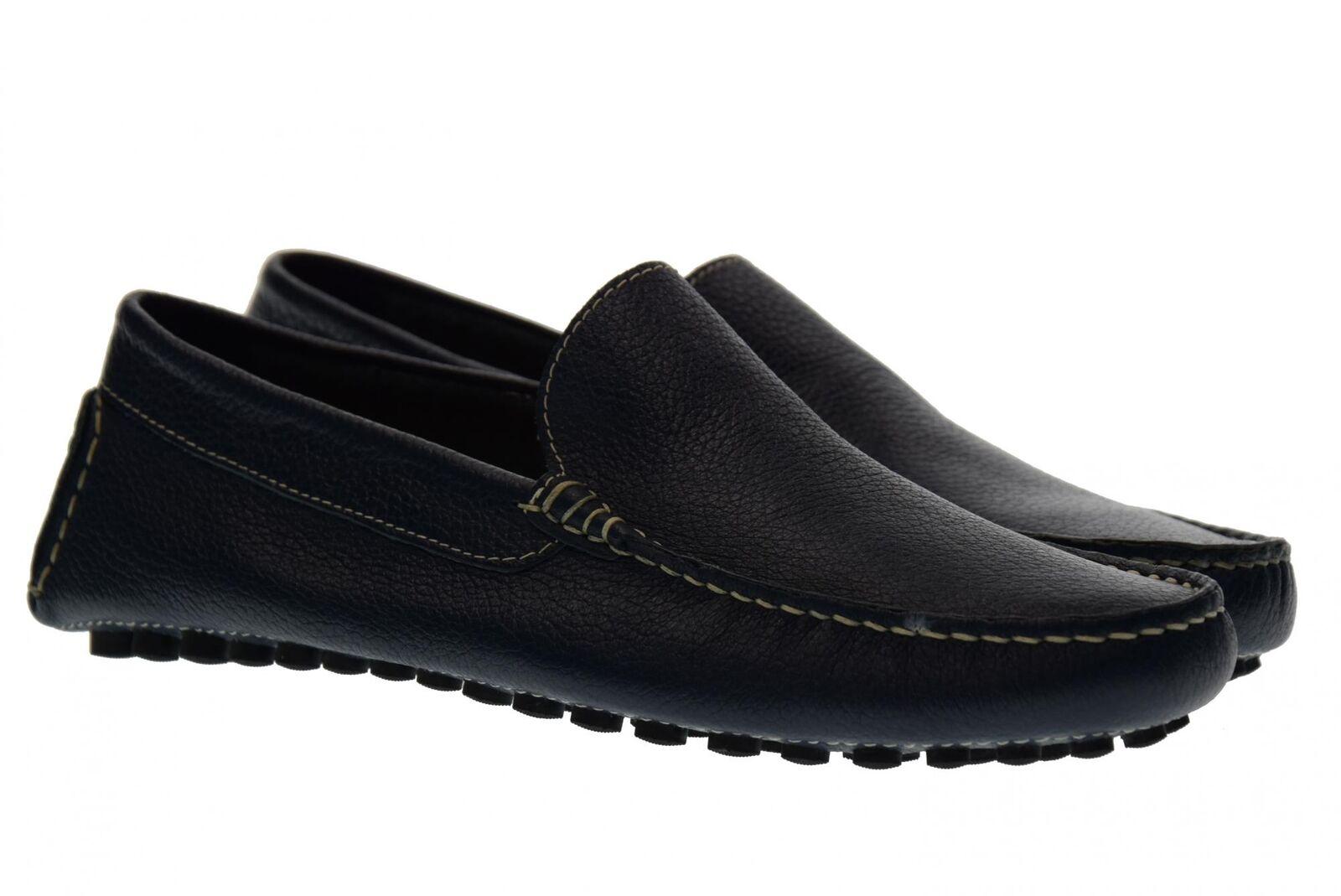 Antica Cuoieria holgazanes del hombre de los shoes 20109-V-V03 Vela blue P18s
