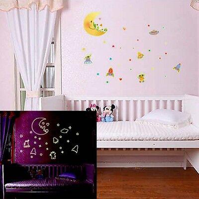 Home Glow In Dark Stars Wall Stickers Baby Kid's Bedroom Nursery Room Decor DIY