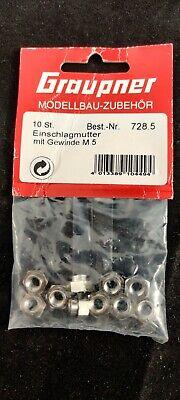 Graupner 56.4 Stellring 10//5,1mm x 5,5mm RC Modellbau Zubehör Einzelverkauf