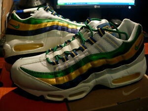 64ccad920 Image is loading Nike-Air-Max-95-Brazil-World-Cup-Mens-