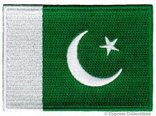 PAKISTAN FLAG embroidered iron-on PATCH PAKISTANI SOUVENIR EMBLEM APPLIQUE new